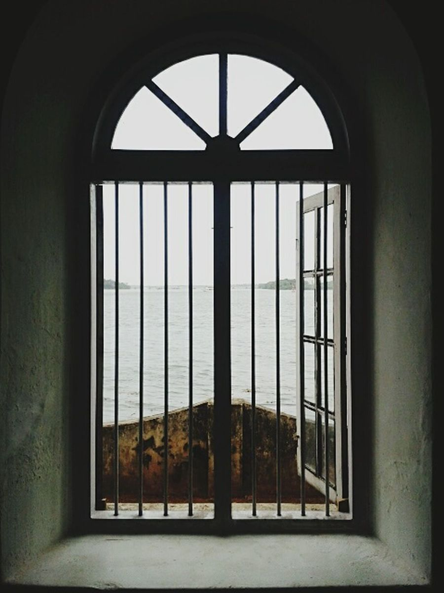 We are all just prisoners here, of our own device... Through The Window Vista Beyond Port The Cage Mobile Photography at Kochi Biennale, Aspinwall House, Fort Kochi, Kerala India The Architect - 2016 EyeEm Awards Finding New Frontiers BYOPaper!