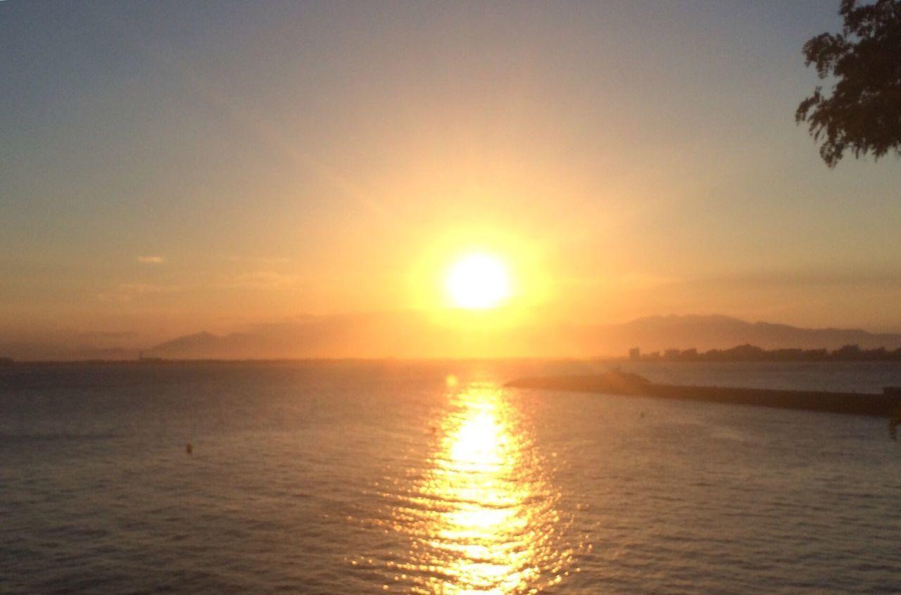 Sunset Water Sun