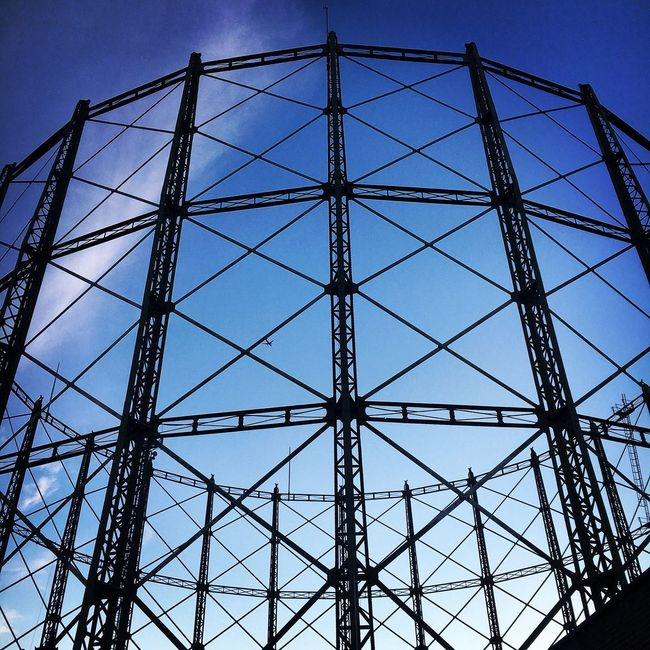 London Kennington Gas Holder Listed September
