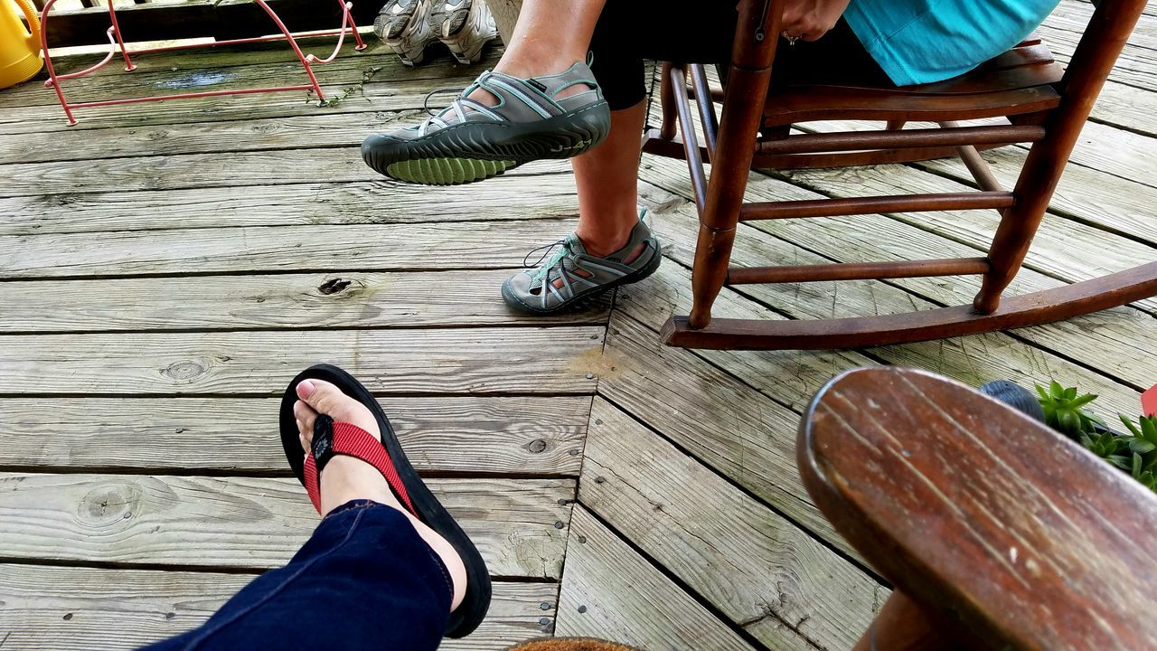 Place Of Heart Shoes Togetherness Human Foot People Casual Clothing Two People Rocking Chairs Visiting Back Porch Sharing  Loving Coffee Place Copyspace Background Enjoying Life Healthy Lifestyle Thinking Contemplative Live For The Story Meditation Inspiring Caring Rocker Real People Out Of The Box Let's Go. Together.