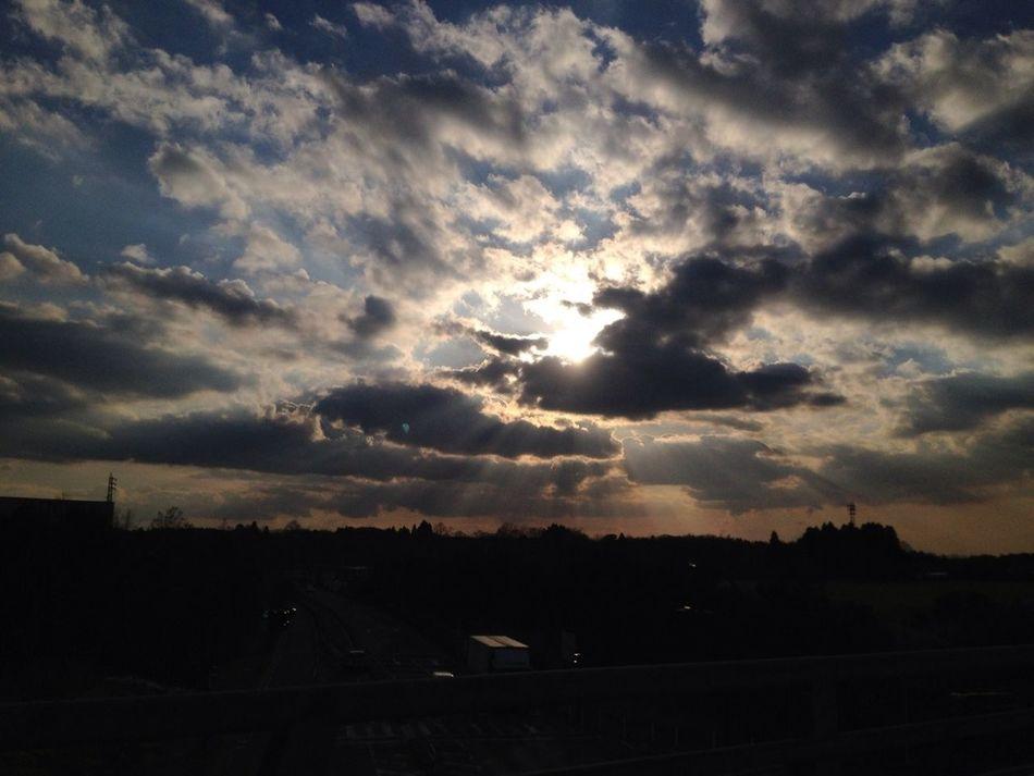 Sky In Japan