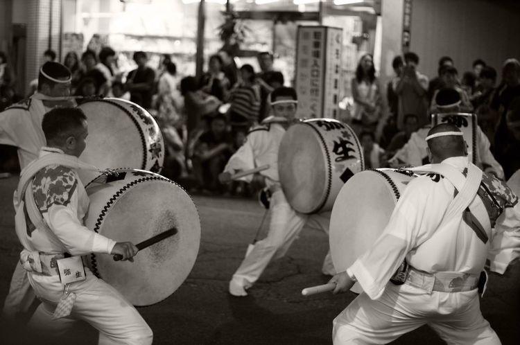 阿波踊り Japanese Festival 徳島県 Blackandwhite