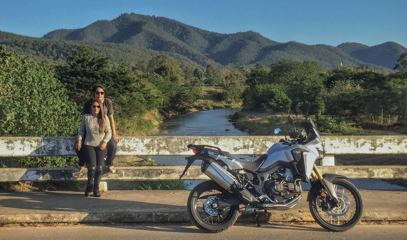 Finding New Frontiers Motorcycle Day AfricaTwin