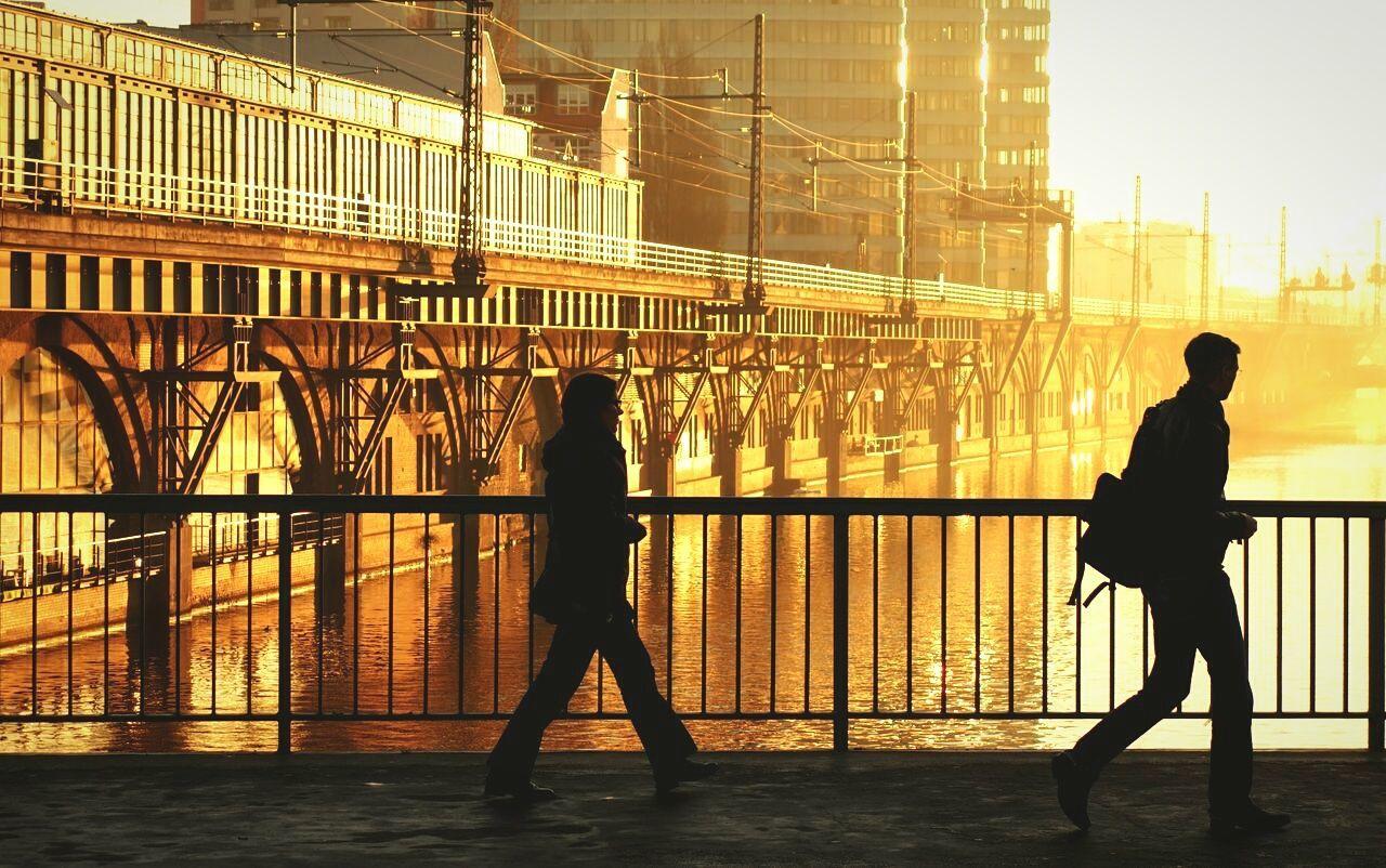 Beautiful stock photos of bridge, Architecture, Berlin, Building Exterior, Built Structure