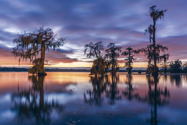 Lake Majestic Outdoors Reflection Scenics Sun Sunset Tranquil Scene Tranquility Water