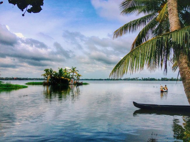 Hidden Island in the backwaters of Alappuzha, Kerala. Read the full story at http://bit.ly/1yScjBq Travelphotography Kerala Indiatravel Alleppey