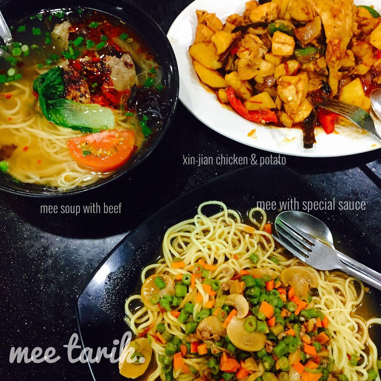 dinner! heavy dinner😤😤 Dinnertime What's For Dinner? EyeEm Best Shots EyeEm Best Edits EyeEmBestPics EyeEmMalaysia EyeEm Gallery Iphonephotography IPhoneography Noodles