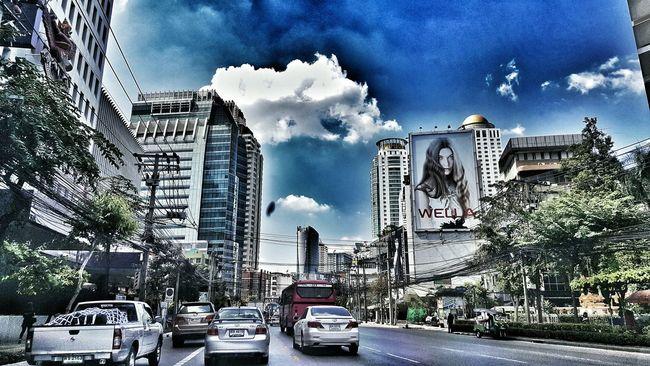 Bangkok City Hello Bangkok Bangkok Streetphotography