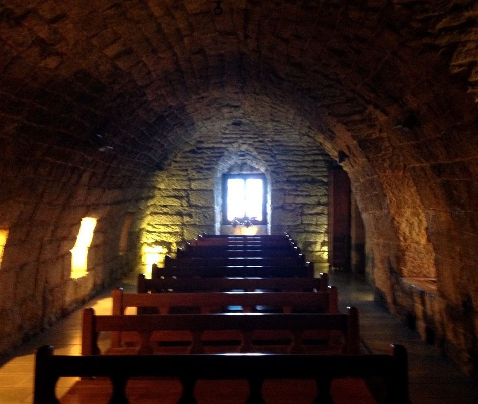 Indoors  Spirituality Religion Place Of Worship No People Old Buildings Church St Charbel