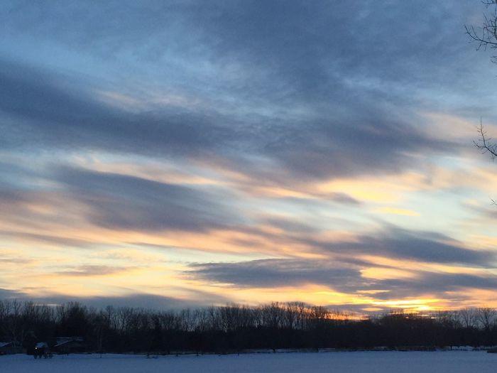 IPSGolden Sunset. Pleasant Prairie WI USA WisconsinSunset