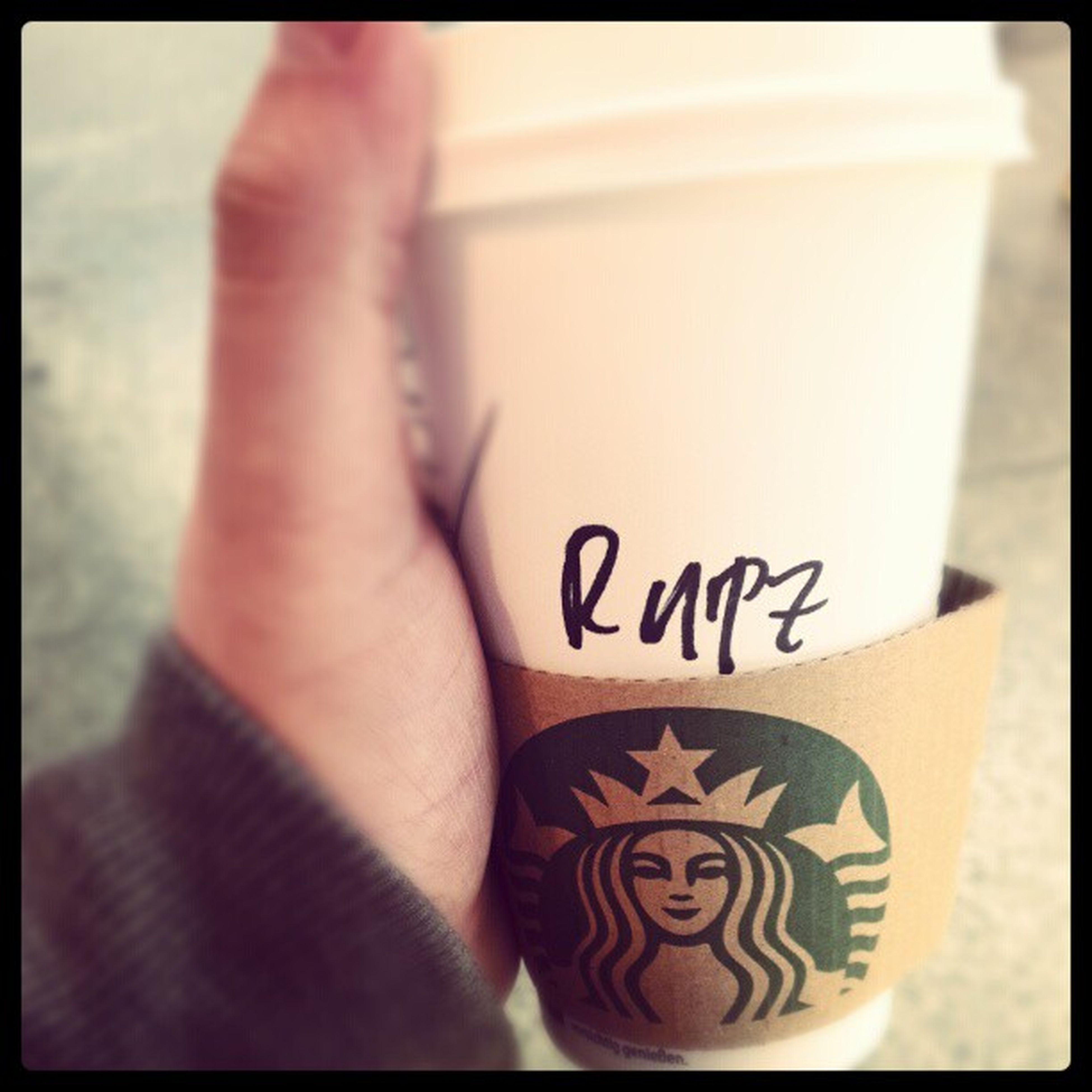 Wer auch immer dieser Rupz ist - danke für den Kaffee. Brannon Coffee Kaffee Starbucks igersgermany igersmunich