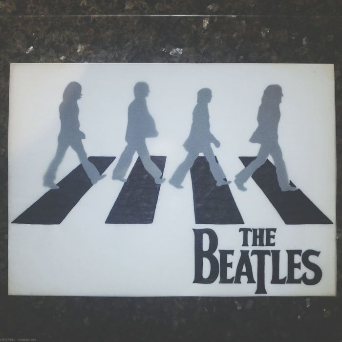 The Beatles Abbey Road Drawing Handmade