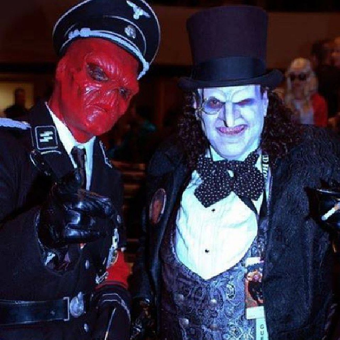 Batman OswaldCobblepot RedSkull Cosplay