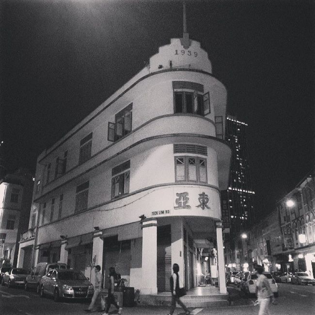 """""""74 yrs Old Kopitiam (coffeeshop)"""". An iconic shophouse that has to uproot n relocate to a nearby refurbisbed shophouse. Reputedly, a foreign investor had bought over the property.....i had only knew about this building's history and the iconic Tong Ah Coffeeshop. It is sad....despite not having experienced the old-style coffees n not soaked in the ambience of yesteryears......The new place will definitely not be the same especially for their loyal old-timers n regular customers... Storyoftheday Allshots_ Almaproject Architecture Instagram Webstagram Walkwaywhy Bws_artist_asia Bwstylesgf Bnw_life Bnwalma Bnw_worldwide Bnw_demand Bws_worldwide Bnw_captures Bws_streets Buildingstylesgf Bw_singapura Streetbw Jj  Jj_streetphotography"""