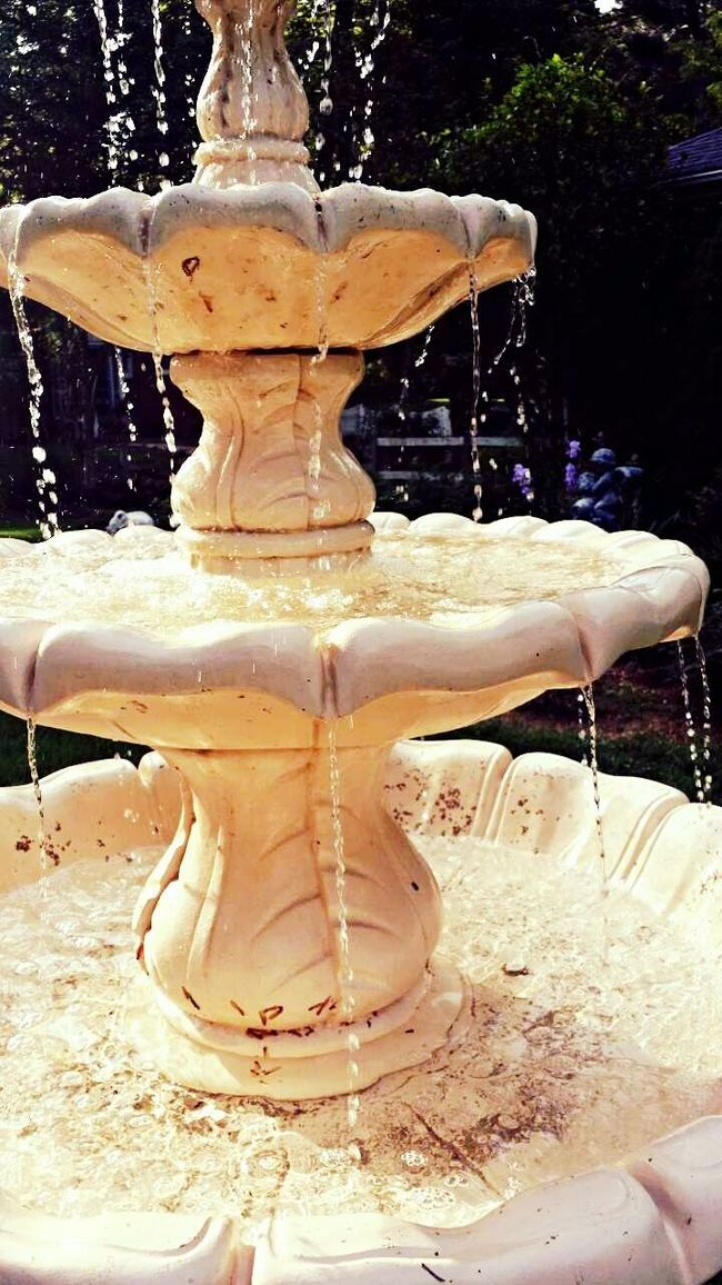 Enjoying Life Waterdrops Summertime Garden Photography Amoment Memories Dontstop Inmylife Water Fountain Me, My Camera And I