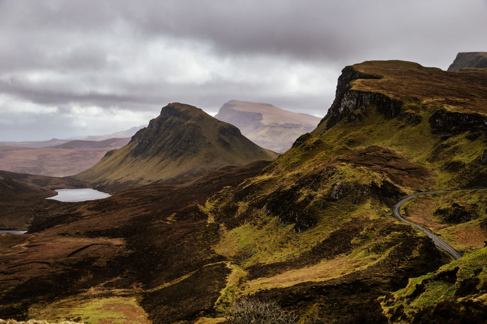 Quiraing, Isle of Skye Beauty In Nature Day Isle Of Skye Landscape Mountain Mountain Range Nature No People Outdoors Quiraing Scenics Scotland Sky