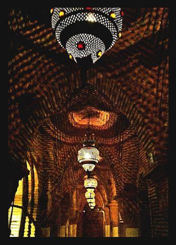 Hanging Out Shish Kebabs Medina La Medina De Marrakech