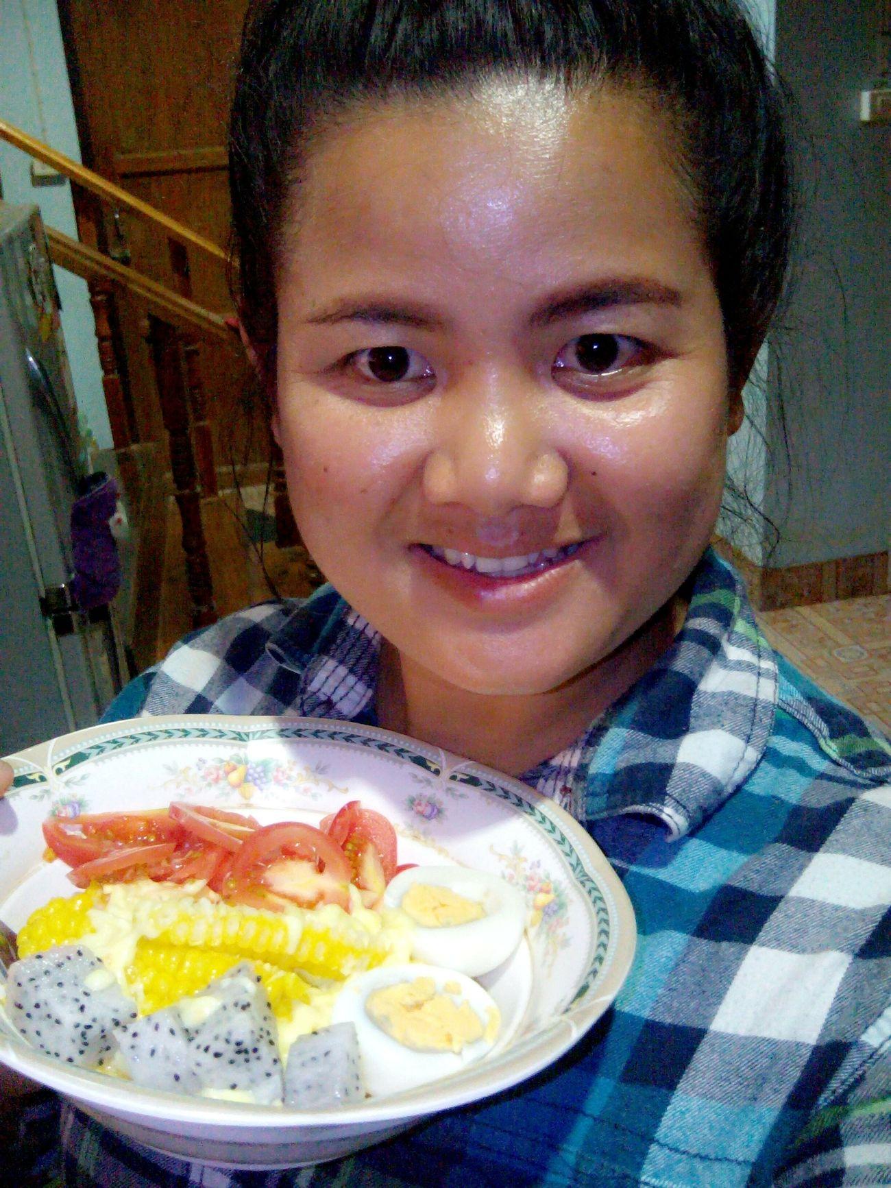 สลัดผลไม้ อร่อยฝุดๆ Yummy♡ Furit Salad Enjoying Life Hello World Love Food, Love Life.