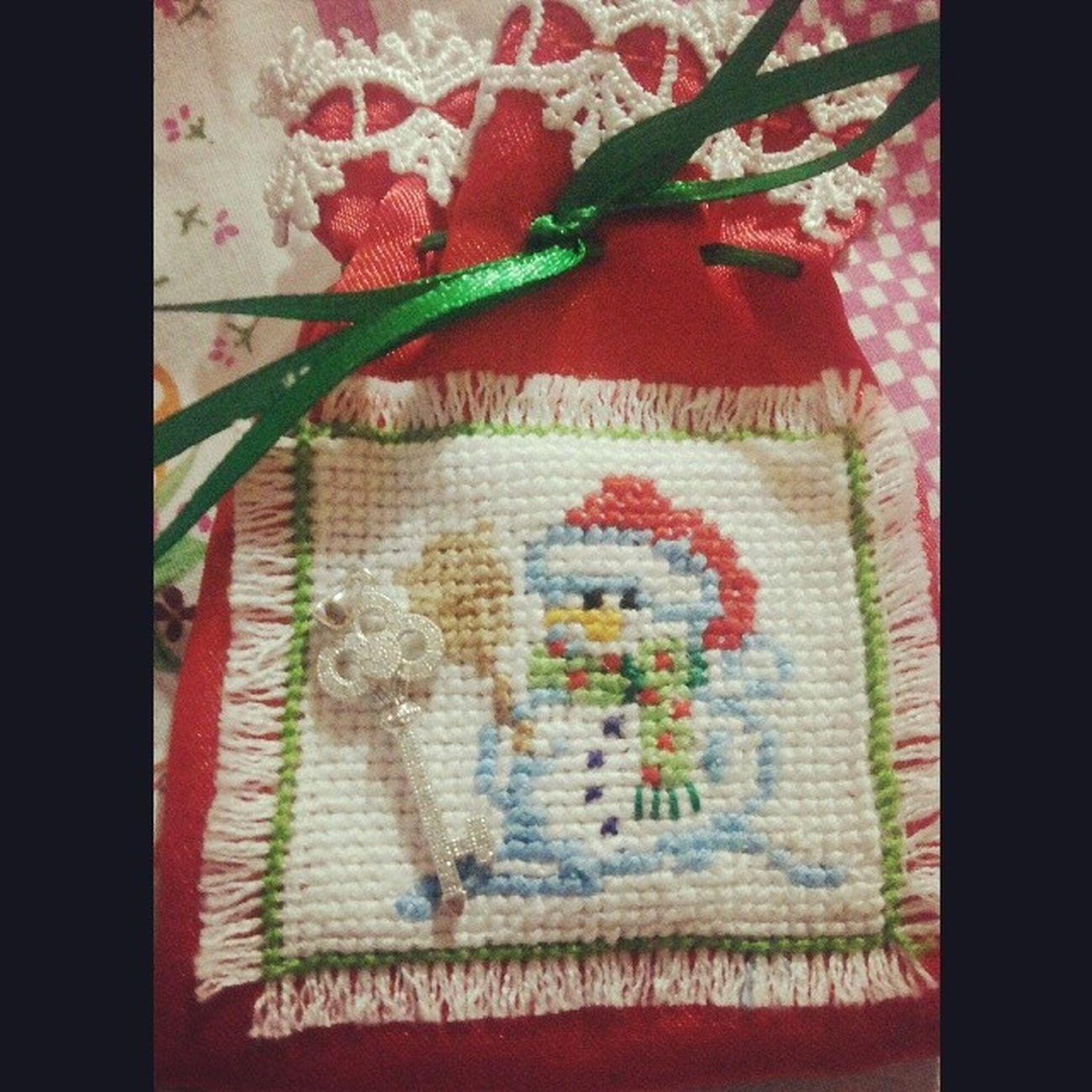 СвятойНиколай подарки ожидания радость beautiful sweet нежно ленточки снеговики
