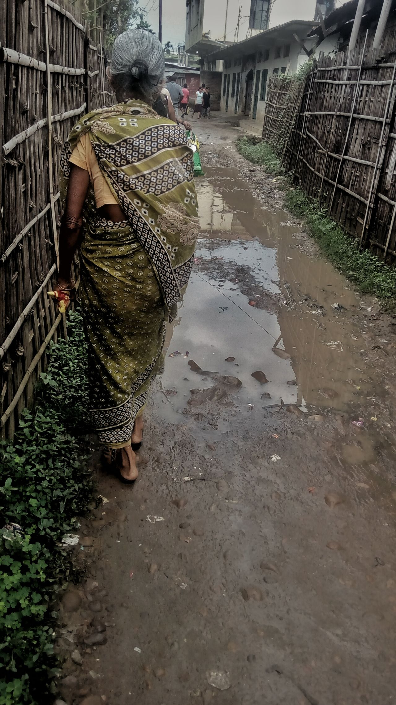 Narrowpath Woman Walking Dimapur
