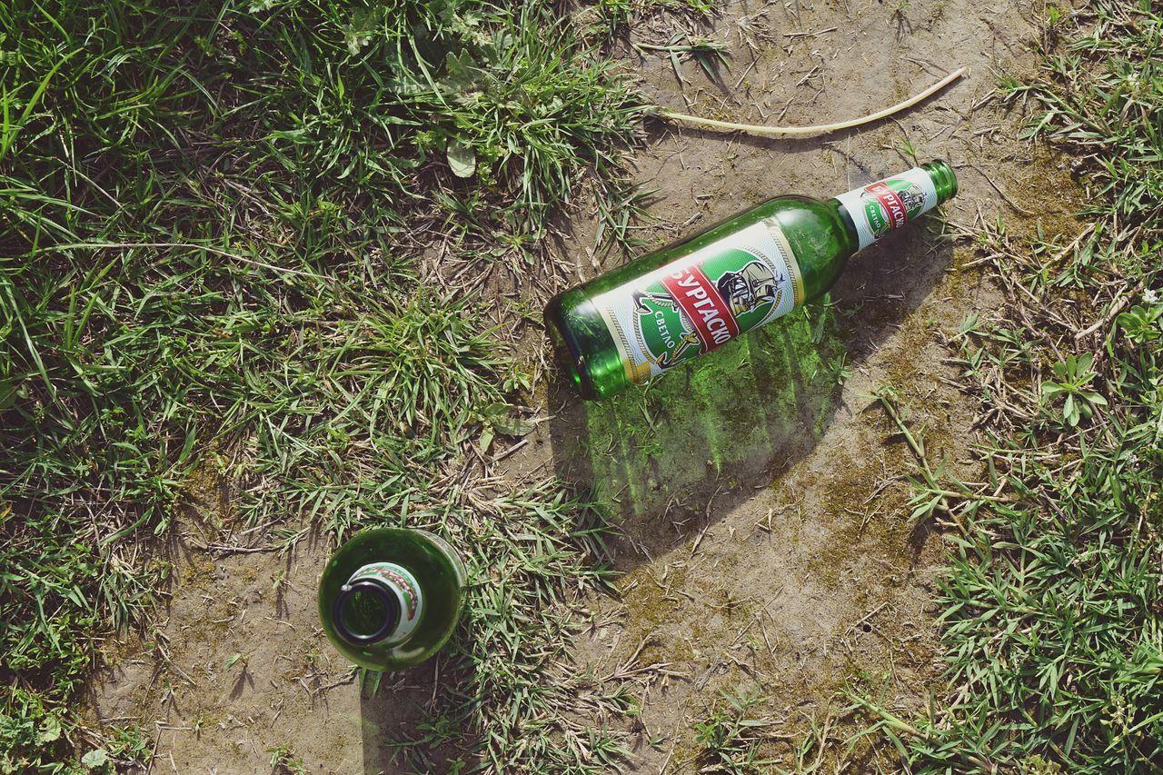 Bottles Bottle Alcohol Bottles Empty Bottles Glass Bottle Beer Beer Bottle Sunny Day Sunny Color Shadow Green Things I Like
