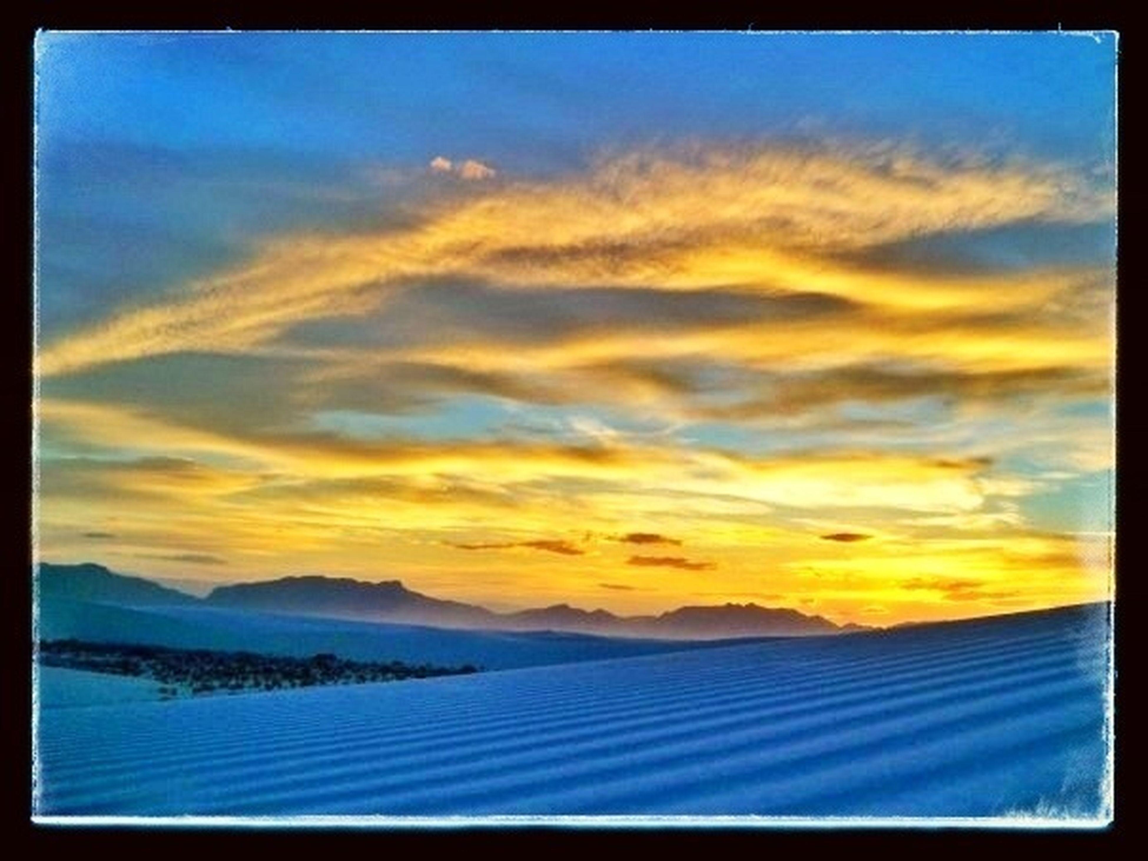 Sunset Big Big TingsFi Gwan Sky_collection Beautiful