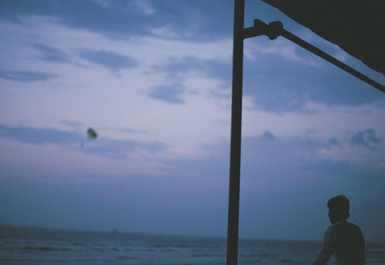 Film Filmcamera 35mm Film Film Photography Filmisnotdead Cloud - Sky Sea Beach