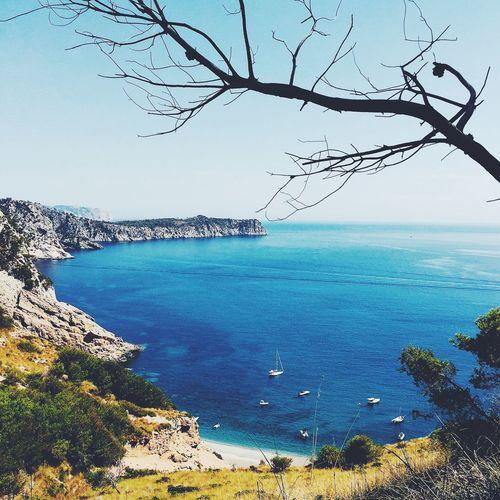 The spot. Beach Crique Blue Sea Mediterranean  Mediterranean Sea Summer Views Color Of Life Mallorca
