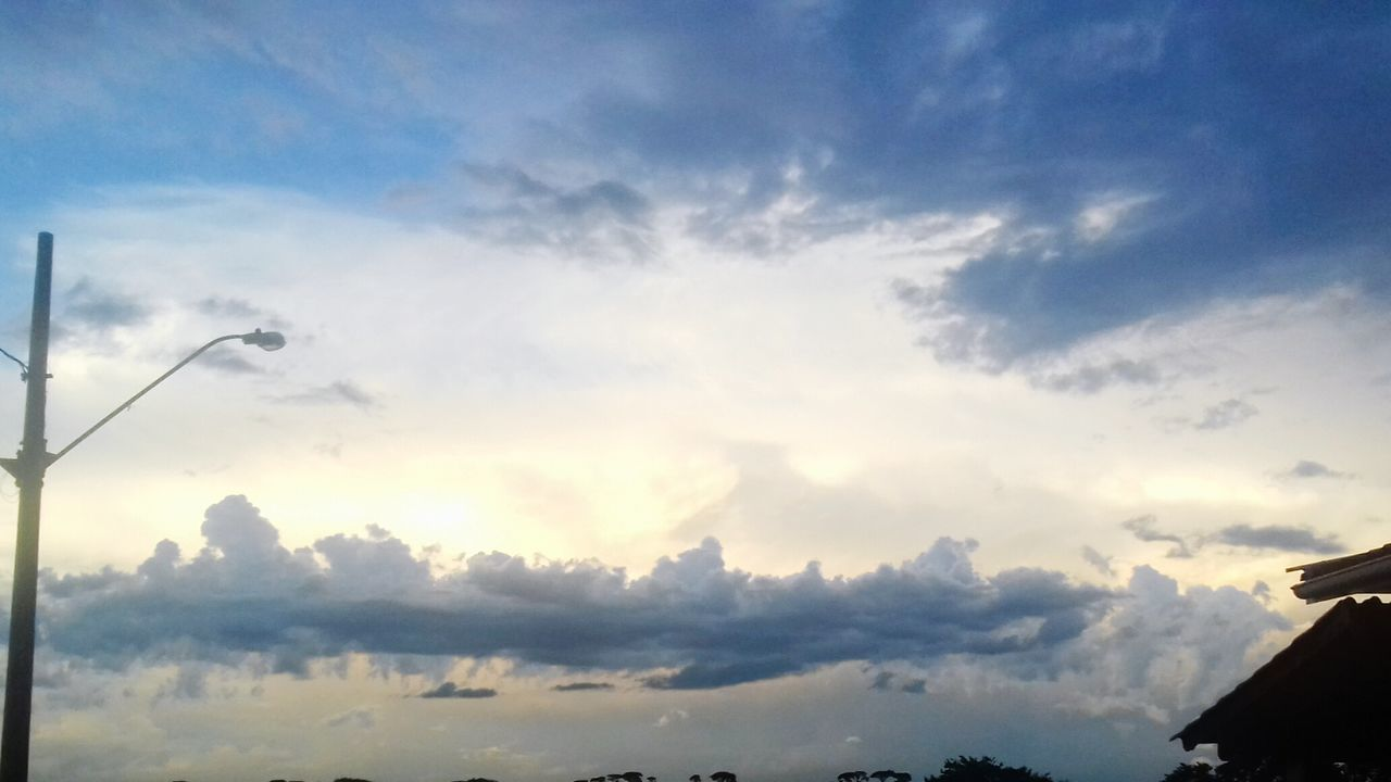 sky, cloud - sky, beauty in nature, low angle view, nature, no people, outdoors, tranquil scene, scenics, tranquility, sunset, day