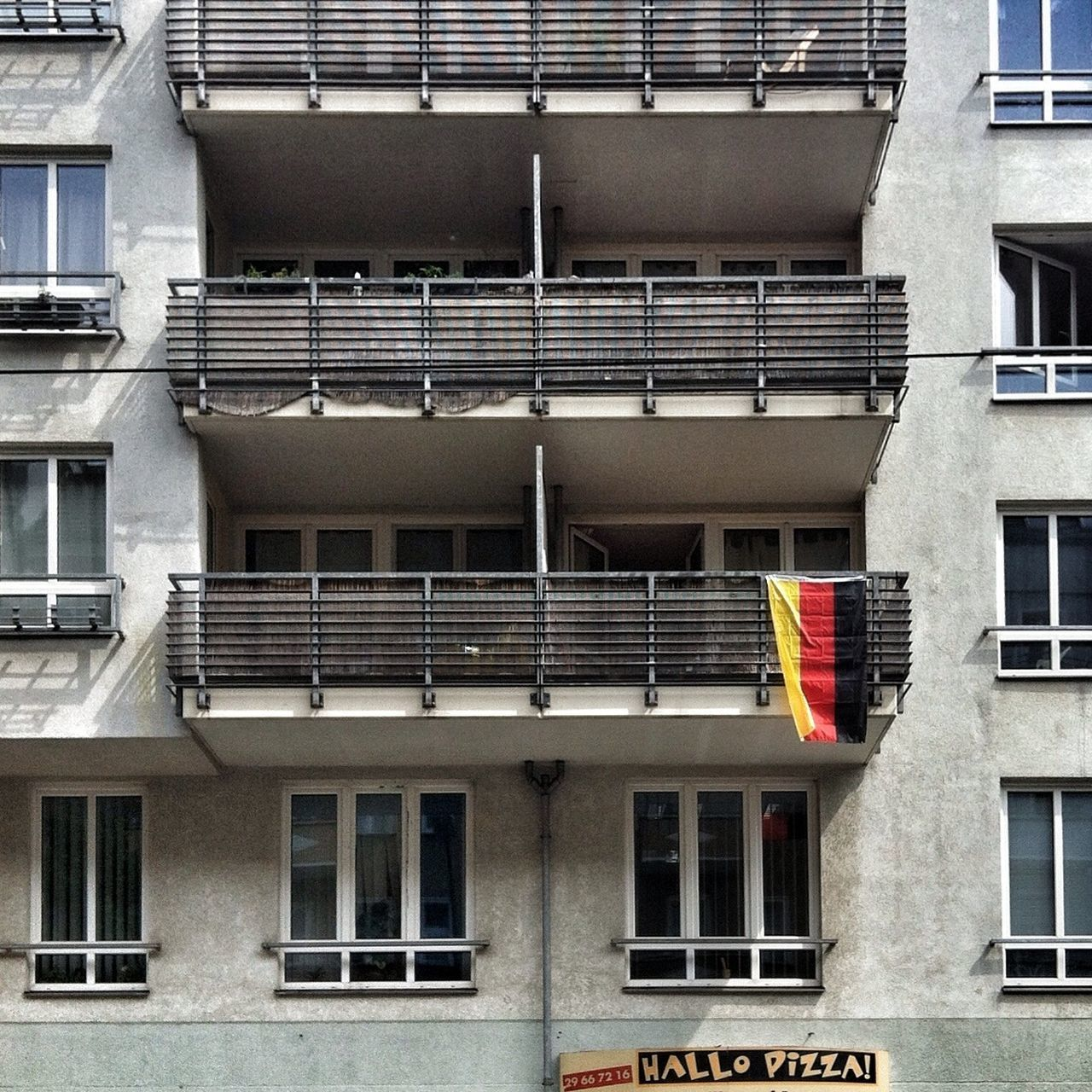 My Fucking Berlin House Facade Schland Tristesse