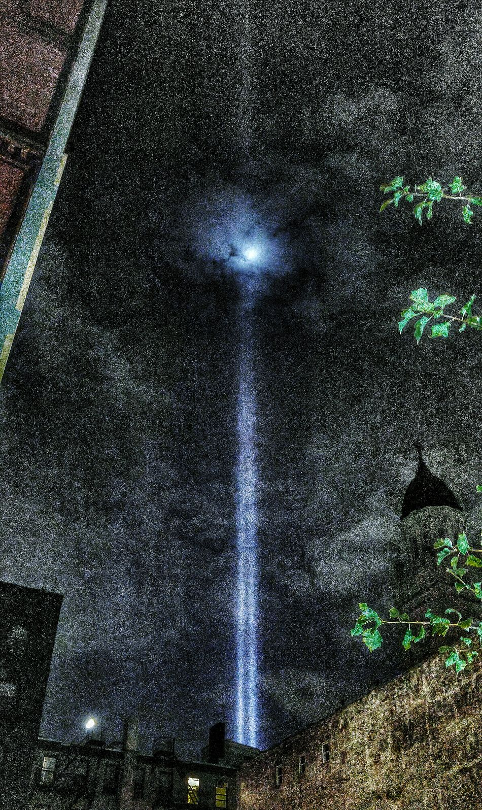 WTC LIGHTS from east 4th street Smartphone Camera Overnight Success