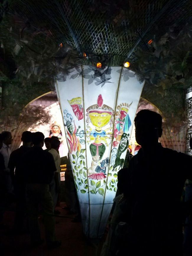 Light And Shadow Durga Puja Durga Puja 2012