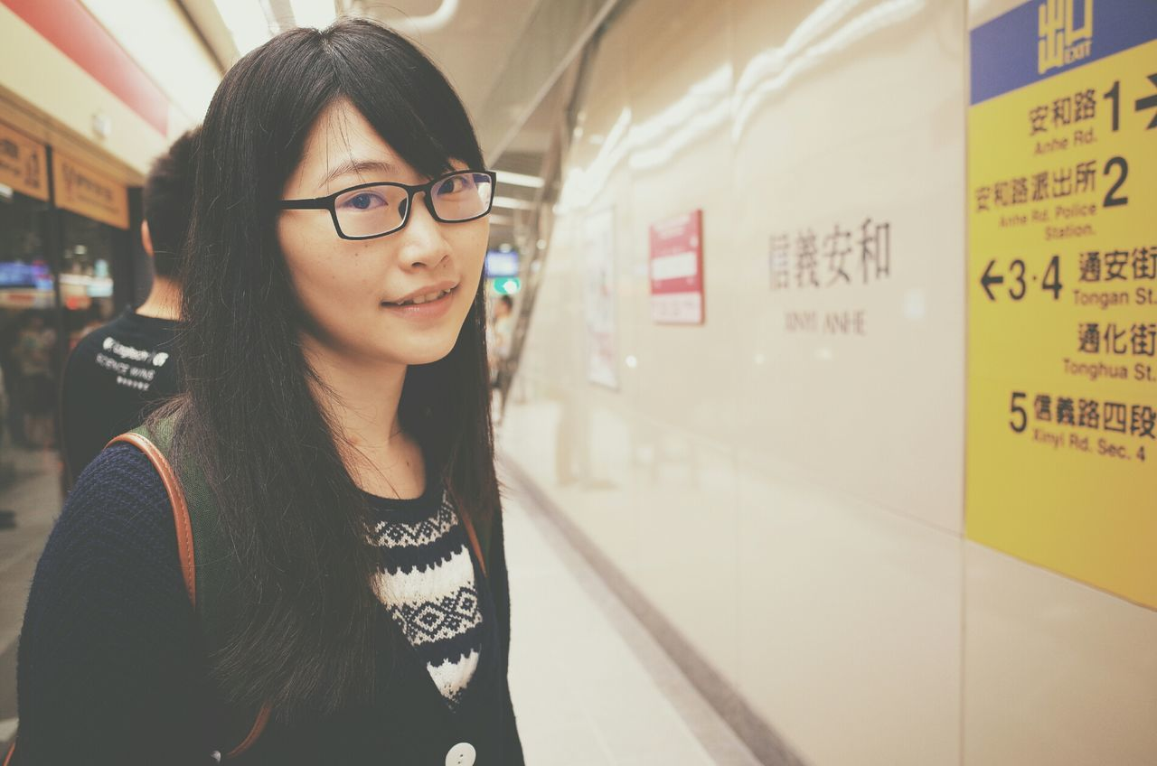 Beautiful stock photos of glasses, Asian, Black Hair, Cheerful, Close-Up
