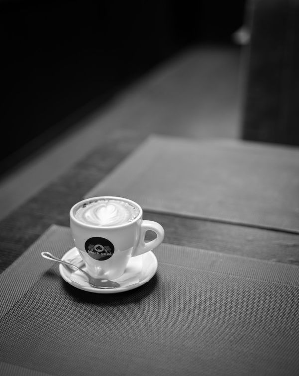 Blackandwhite Photography Close-up Coffee - Drink Coffee Cup Cup Drink Indoors  No People Table