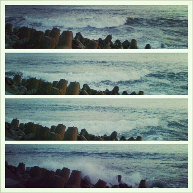 Waves Glagah Wates Jogja INDONESIA Instagood Nature Beach Webstagram Photowall