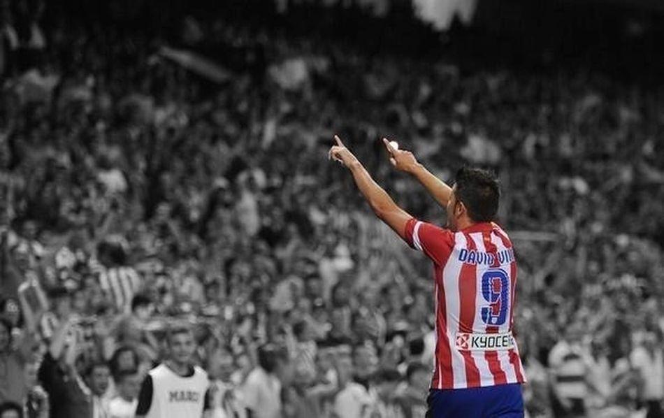 David Villa Vicente Calderon Atlético De Madrid Leyenda Legend.