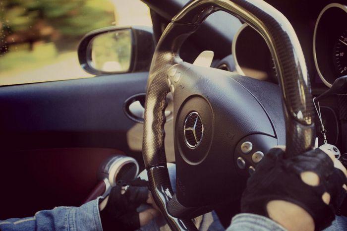 休日のドライブ(^^)/スピード注意 Holiday Drive Enjoying Life Love Convertible Mercedes Benz Japan あとは頼んだ オレ様💕