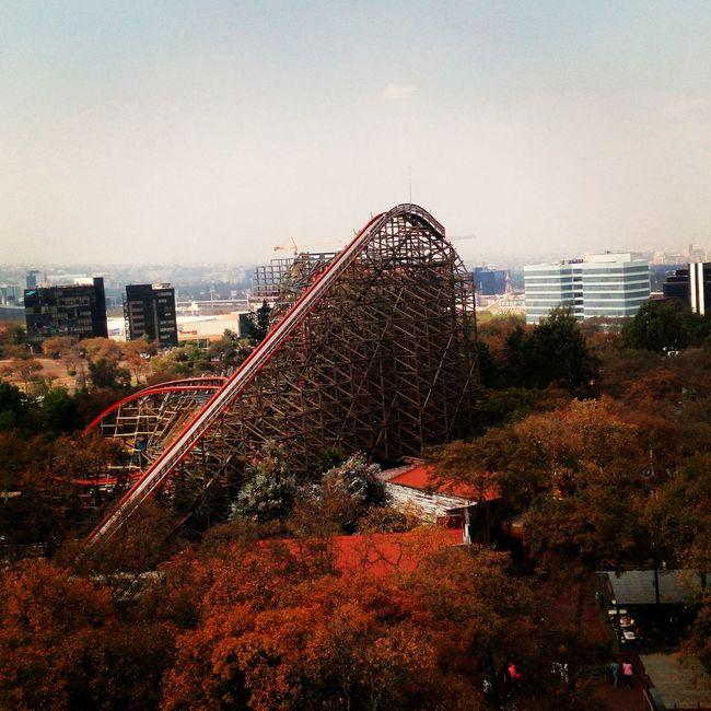 Medusa Steel Coaster Six Flags Mexico Enjoying Life Taking Photos