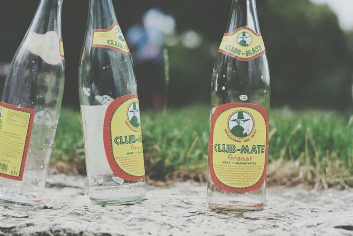 Clubmate Outside Berlin Park