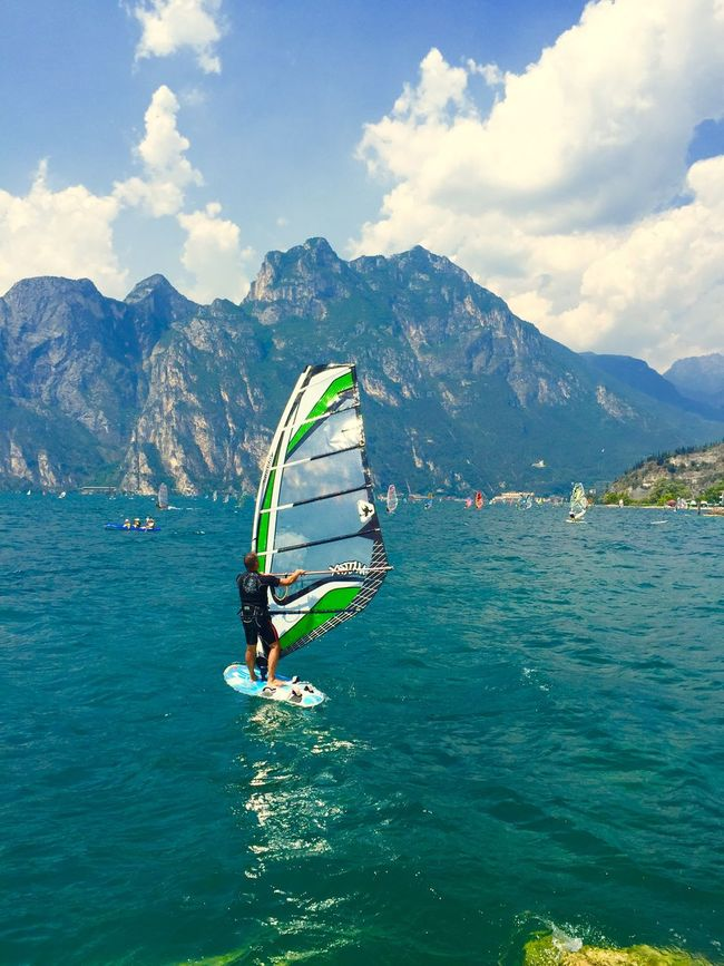Hanging Out Surfing Windsurfing Relaxing Water Fresh Air Enjoying Life Sunshine Quality Time Great Atmosphere