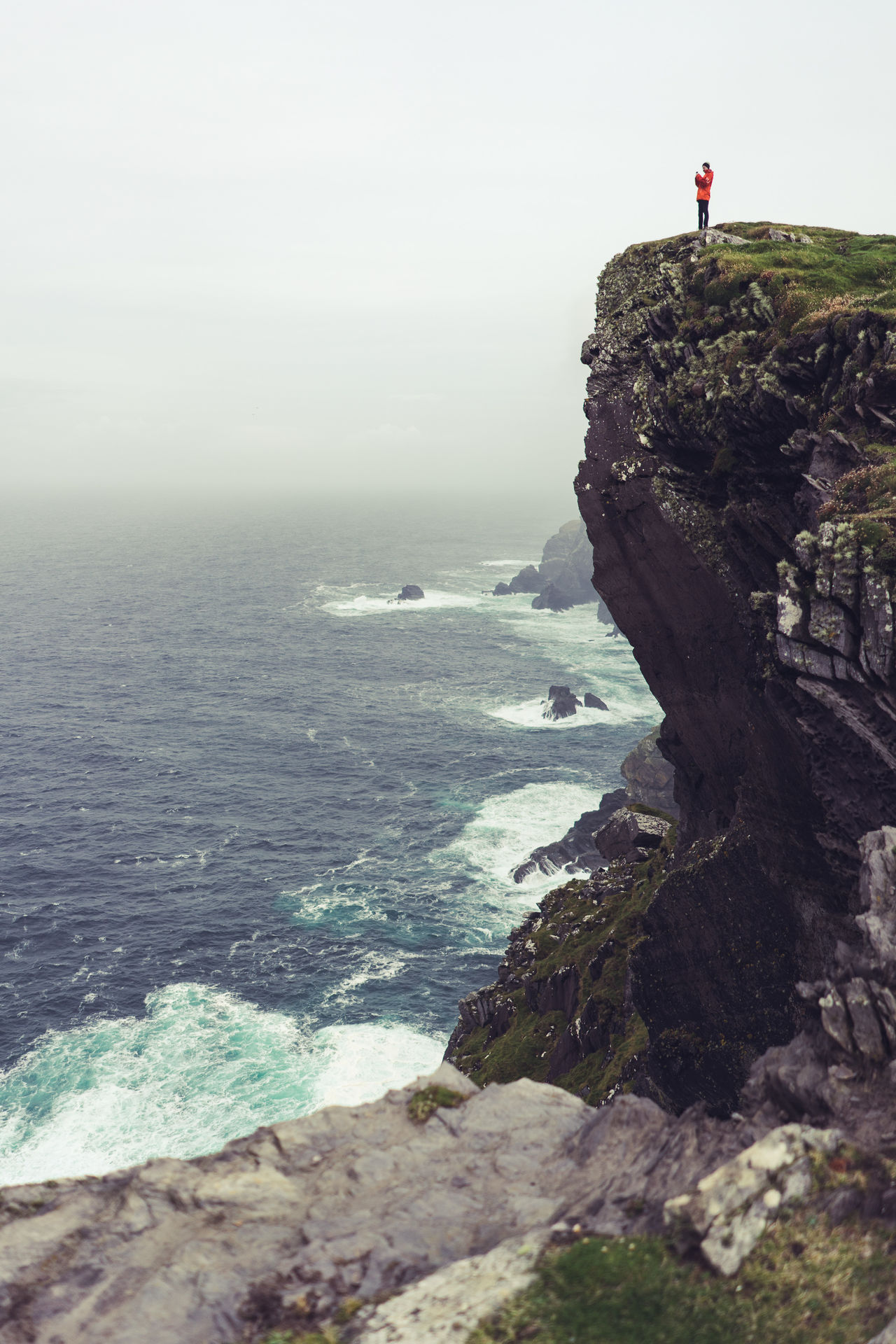 Beautiful stock photos of irland,  Beauty In Nature,  Cliff,  Coastal Feature,  Coastline