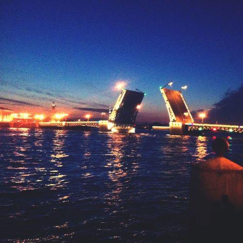 город Санкт-Петербург мост Дворцовый мост Saint Petersburg