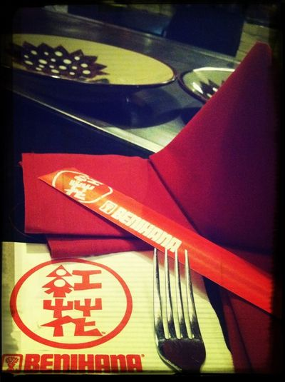 Having dinner with family and friends :)