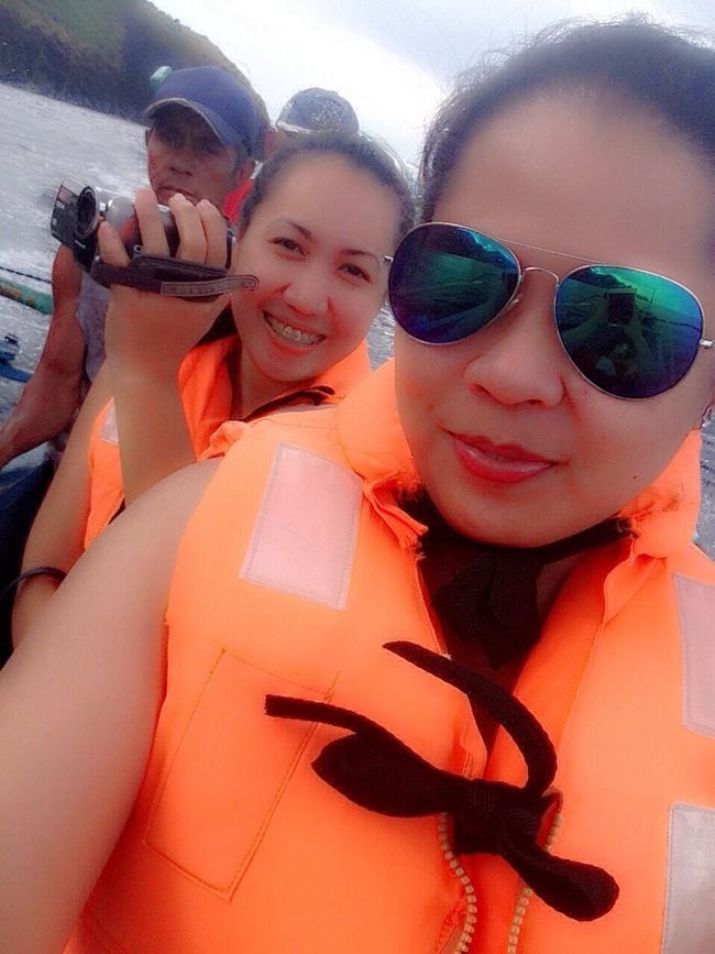 Island hopping. With The Best Bestfriend There's Photo Bomber Cool Guide Enjoying Life Fun Philippines Life Is A Beach