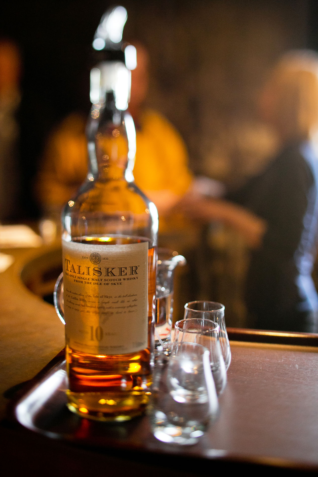 Talisker Alcohol Close-up Day Drink Drinking Glass Focus On Foreground Food And Drink Freshness Indoors  Real People Refreshment Table Whiskey