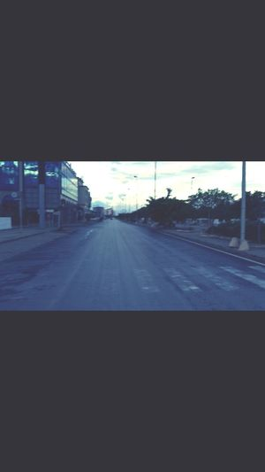 Endless Streets Of Tunisia Excercising Jogging Escaping