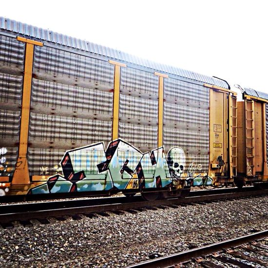 ICH Ichabod Ich Graffiti Railart