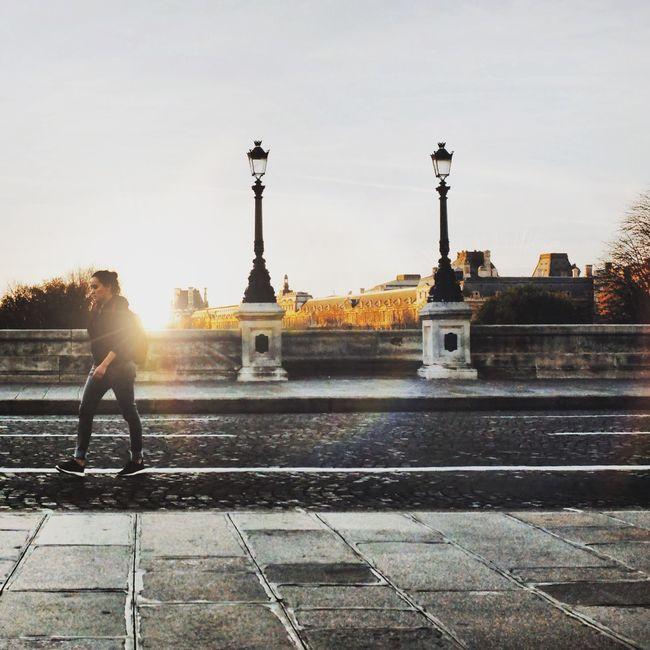 Paris ❤ AMPt - Street Paris Mobilephotography Street Photography Shootermag Streetphotography Sunset Fujifilm Paris, France  France