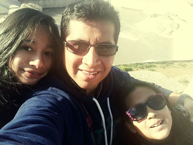 Enjoying the time with the kiddos.. great day for a little trail walk..
