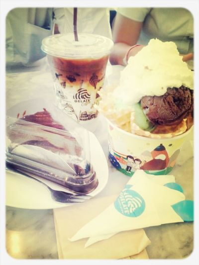 @Gelate' Because My name is Ice-cream lovers. ♥